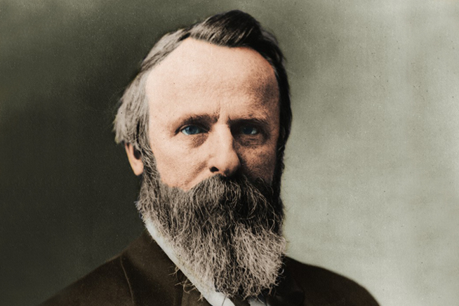 rutherford b hayes Rutherford b hayes, our 19th president, planned before he even won the election to only serve one term, and won by a very narrow margin against his opponent tilden.