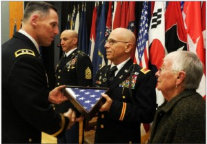 Last continuously serving draftee retires after 42 years of service - Article - The United States Army 2014-11-01 15-44-55
