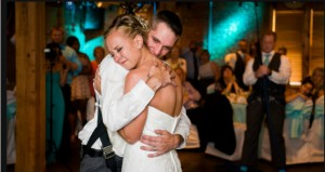 Paralyzed veteran shocks unsuspecting bride when he stands and dances on their wedding day - WTVR.com 2014-11-16 17-43-24