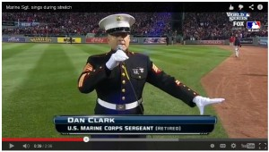 This Marine's Rendition Of -God Bless America- Stunned The Crowd, I'm Speechless 2014-11-01 15-03-15