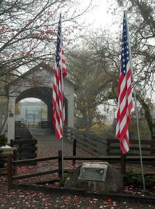 Veterans_Day_Flags_at_Eagle_Point_Covered_Bridge_-_Heather_Gaona_(11409290026)