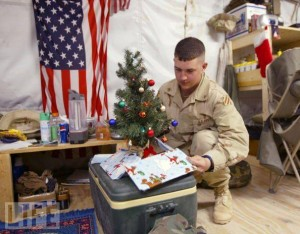 packages for soldiers