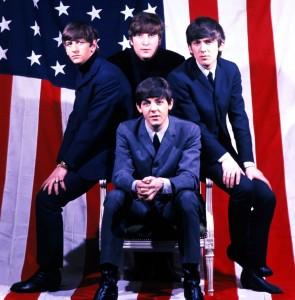 Beatles-American-Flag
