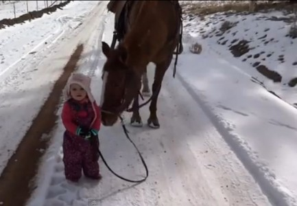 emma and horse