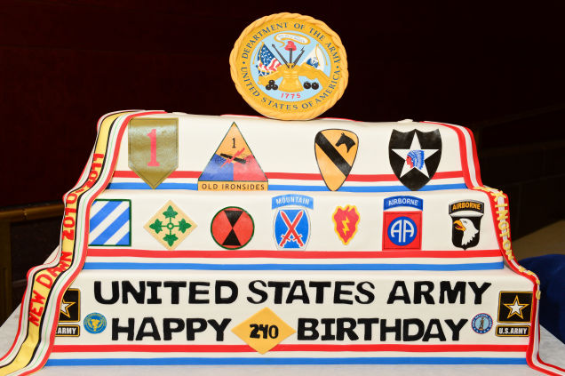 US Army 240th Birthday