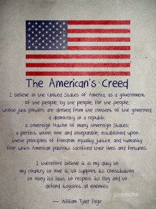 The American's Creed