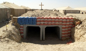 Patriotic Bunker in Iraq