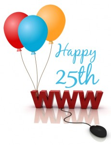 Happy 25th Birthday World Wide Web