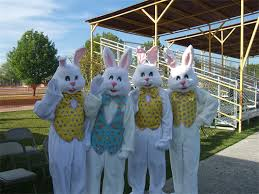Easter Bunnies at Camp Lejeune
