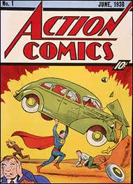 Superman's Action Comics Cover