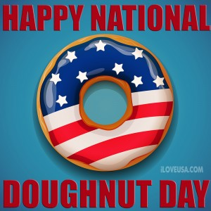 Naional Doughnut Day